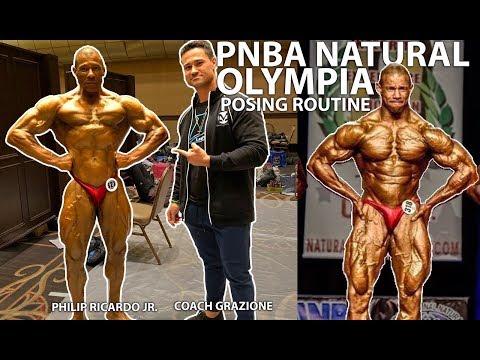 Philip Ricardo Jr. 2019 Olympia posing routine