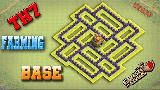 Clash Of Clans Best Town Hall 7 (TH7) Farming Base Design 2018   New Updated