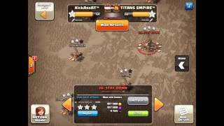 Clanwar KickAssAt™ vs Titans Empire - 3 Star Attacks - Clash of Clans