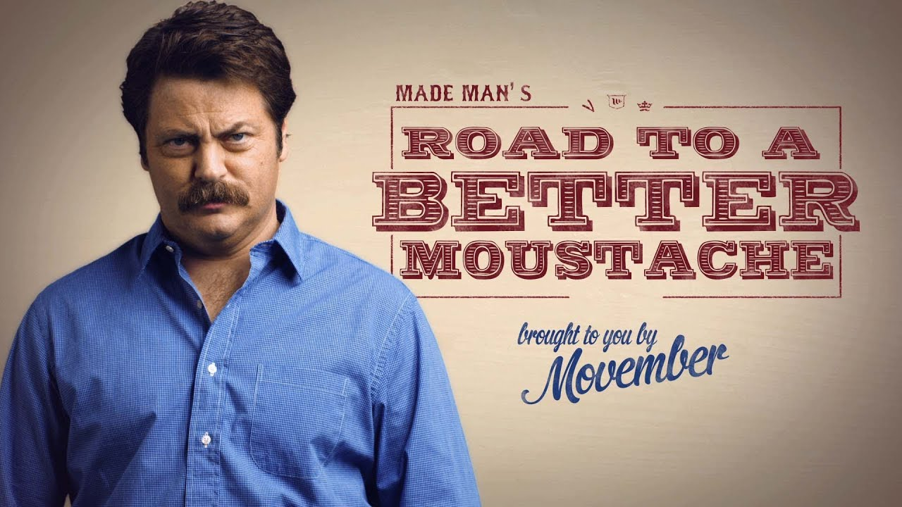 Image result for nick offerman mustache