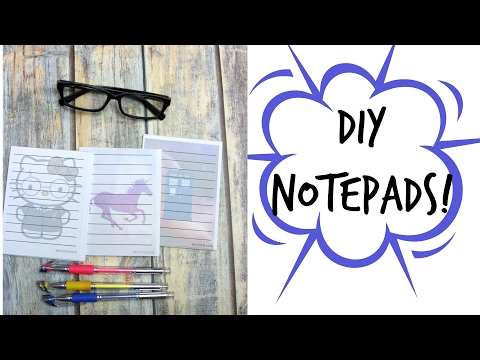 Custom DIY Notepads! | Some of This and That
