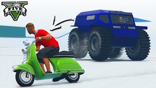 GTA V Online: MOTO vs NOVO ZHABA - X1 de VELOCIDADE!!