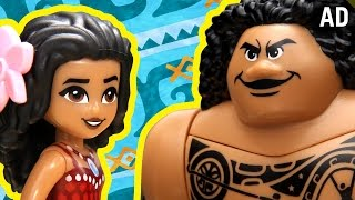 Moana As Told By LEGO | Disney
