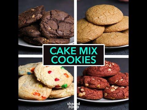 Cake Mix Cookies: 4 Ways   Dessert