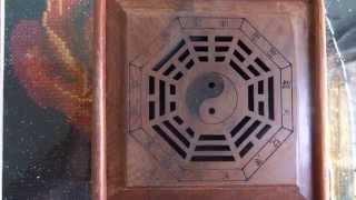 Hộp xông nhang trầm Bát quái - Sản phẩm của cơ sở Mộc mỹ nghệ Tiên Phong