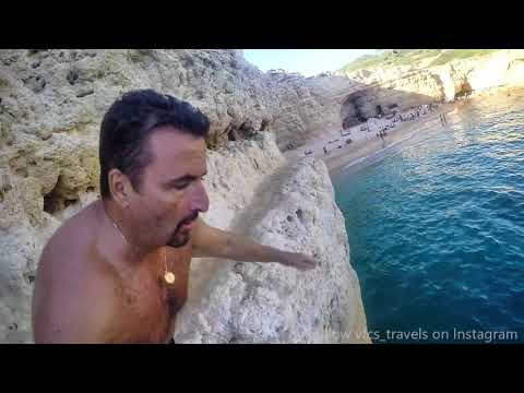 Jumping From Cliffs - Summer 2018 Continues - Praia do Carvalho Portugal's Best Beaches