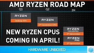 Official: AMD Ryzen 2nd-gen Info, Ryzen Desktop APUs, Ryzen 3 Mobile & Vega Mobile dGPU