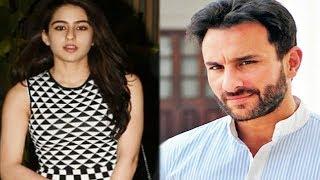 Saif Ali Khan TALKS on Sara Ali Khans BIG Bollywood DEBUT