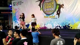 กีวี่ วิกกี้ นุ่น เฟิร์ส JK Street Cover Dance 2016.