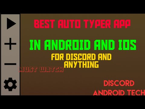 BEST AUTO TYPER APP IN ANDROID AND IOS FOR DISCORD ONLY 0 2 PEOPLE KNOW  ABOUT THIS !