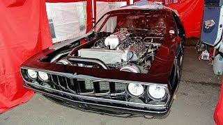 2000hp 1971 Plymouth Barracuda Keith Black HEMI 572 Twin Turbo Street/Strip Car Build Project
