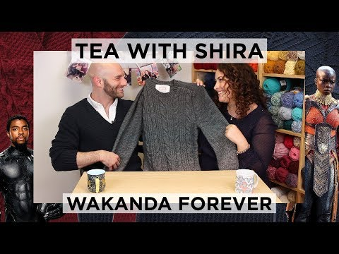 Black Panther Inspired Knitwear from Josh Bennett  - Tea with Shira #41