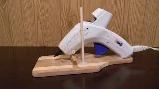 How To Make Your Own Hot Glue Gun Holder (free) Or Really Cheap!