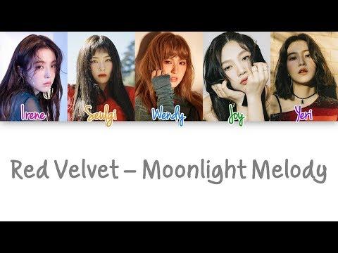 Red Velvet - Moonlight Melody lyrics (Color Coded Han|Rom|Eng)