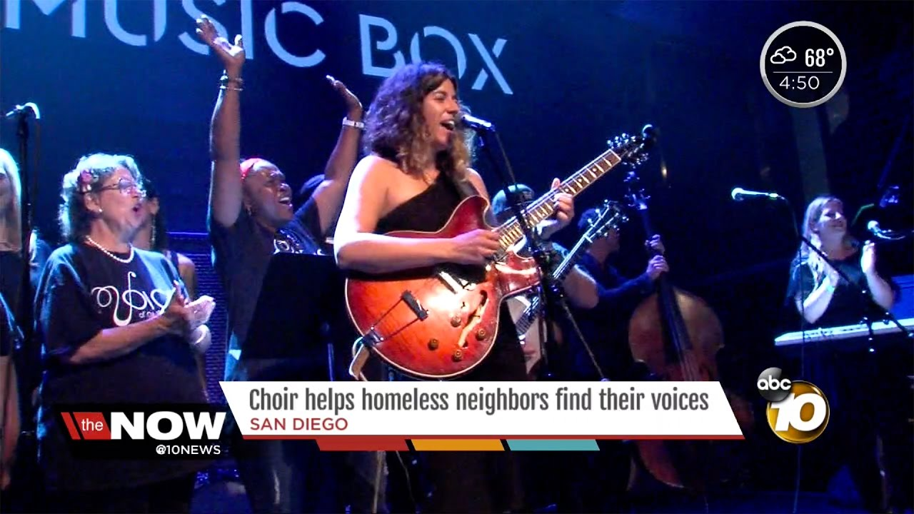 Voices Of Our City @ The Music Box - ABC 10 San Diego news coverage