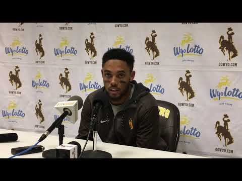 Austin Conway discusses Wyoming's loss to Fresno State