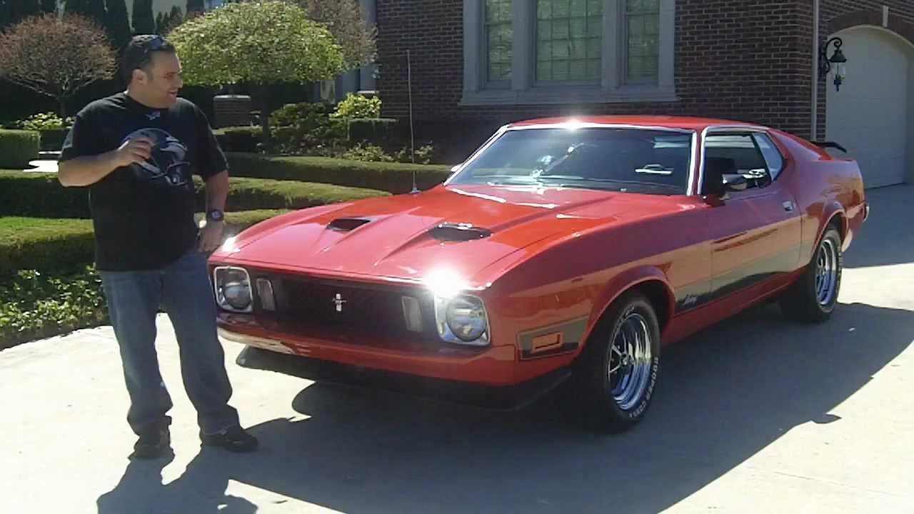 1973 Ford Mustang Mach 1 Classic Muscle Car for Sale in MI ...