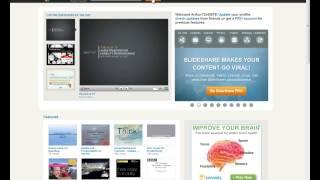 014  Как сделать web презентацию бесплатно