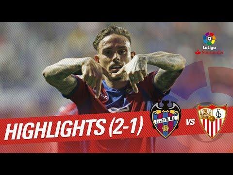 Resumen de Levante UD vs Sevilla FC (2-1)