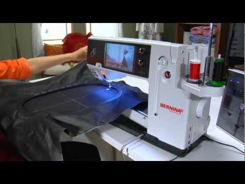 4040 BERNINA 40 Sewing Machine Video Instructions Jumbo Hoop Fascinating Bernina 830e Sewing Machine