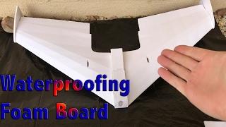 How to paint foam - waterproofing foam board - make your foam projects hold up!