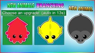 MOPE.IO NEW ANIMAL GORILLA & NEW ANIMALS BRANCHING (MORE ANIMALS COMING SOON) [Mope.io]