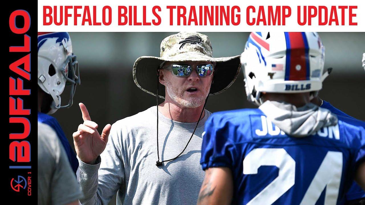 quality design aa8ba 9d5fb Buffalo Bills Training Camp Update, Mitch Morse Injury, & More