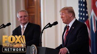 Trump, Australian PM participate in joint press conference