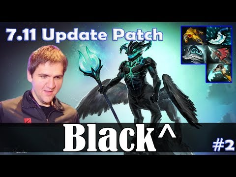 Black^ - Outworld Devourer MID | 7.11 Update Patch | Dota 2 Pro MMR Gameplay #2
