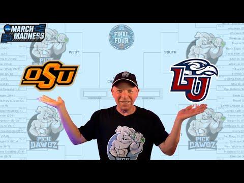 Oklahoma State vs Liberty 3/19/21 Free College Basketball Pick and Prediction NCAA Tournament