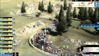 Pro Cycling Manager 2010 - Tour de France 2010 - Radsport-Manager  - Bergetappe