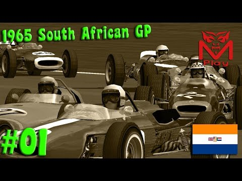 F1 Challenge VB | R.01 - 1965 South African GP | (Running on fumes!)