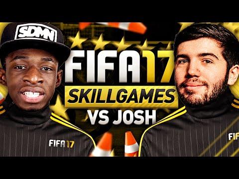 FIFA 17 SKILL GAMES VS JOSH!!!