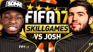 FIFA 17 SKILL GAMES VS JOSH!!!(Re-uploaded due to processing error! ♥ Footage from the EA Capture event - lots of people were recording at the same time so it's a noisy background!, 2016-09-17T10:58:46.000Z)