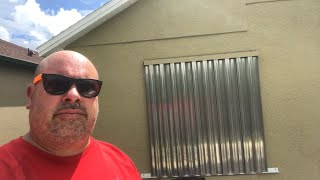 Hurricane Shutters Install......How to install Hurricane Shutters, Hurricane Shutters Installation