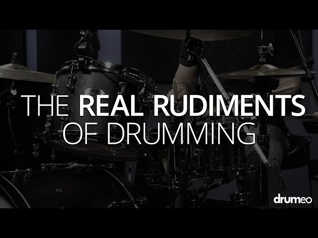 The Real Rudiments Of Drumming - Drum Lesson (Drumeo)