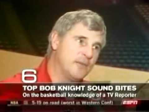 Bobby Knight Top 10 Soundbites
