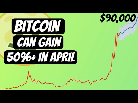 Historically April is One of The Best Months For Bitcoin | BTC targets $90,000 in this April!