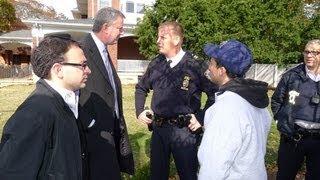 RCSP Shomrim Patrol is honored by Rabbi Shapiro
