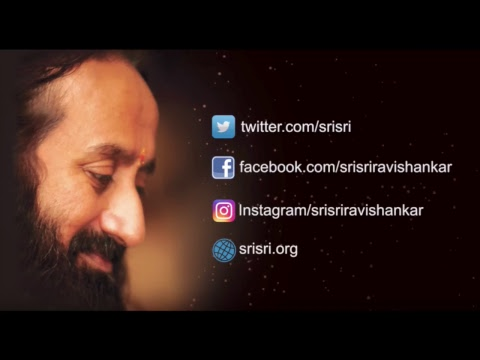 Thursday Thoughts with Gurudev Sri Sri Ravi Shankar
