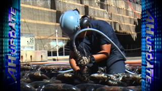USS Lassen Undergoes Dry Dock Period in Yokosuka