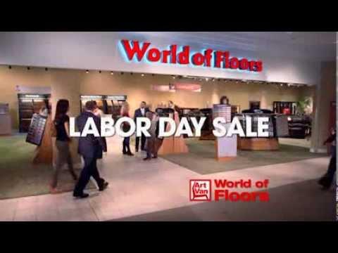 Art Van World Of Floors Labor Day Sale 2013 Youtube