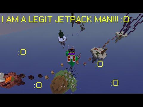 I broke a jetpack!!! Jetpack Dude Parkour Map