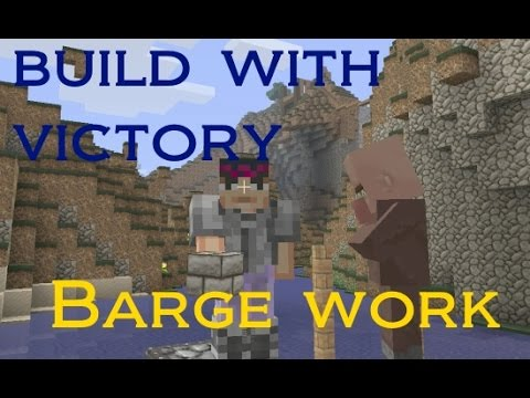 Barge and Mountain Village - Minecraft - Build with Victory #18