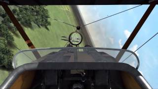 (1080p) ROF Sopwith Camels, Spads & Albatross (Big dogfights with 20+ planes)