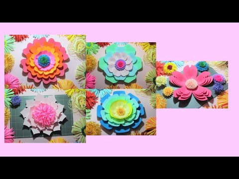 paper-flower-diy-craft-|-5-types-of-paper-flower-part-017