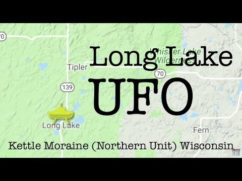 UFO over Long Lake, WI 6-23-18