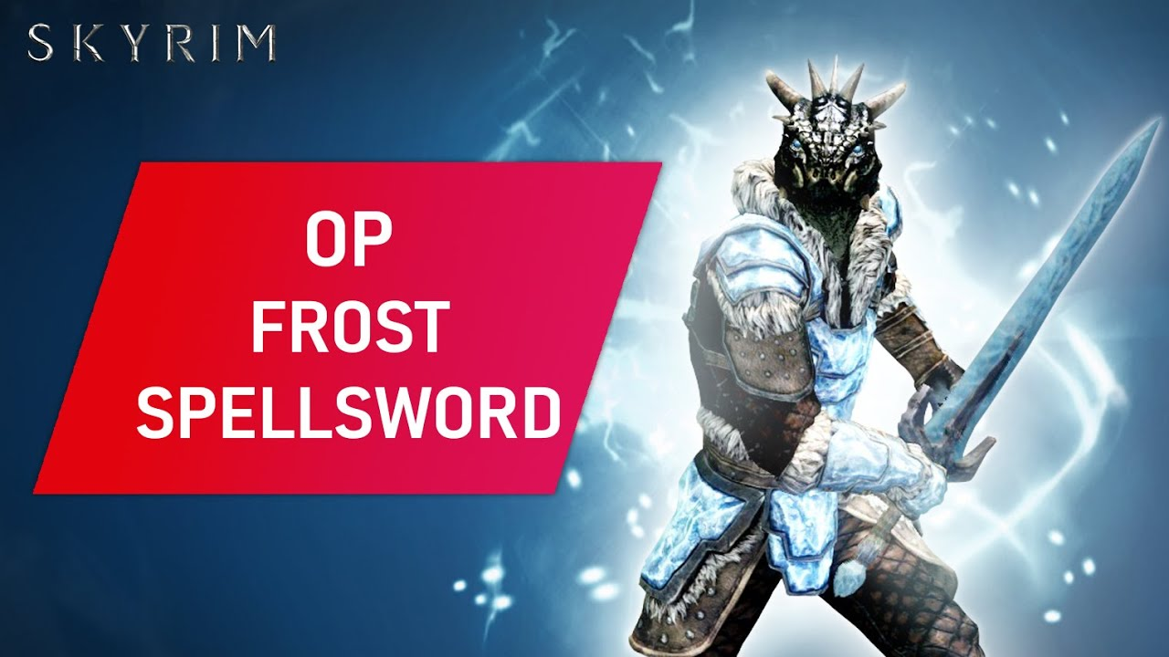 Download Skyrim: How To Make An OVERPOWERED FROST SPELLSWORD Build On Legendary Difficulty