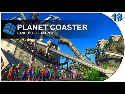 Planet Coaster - S03E18 - Custom Supports