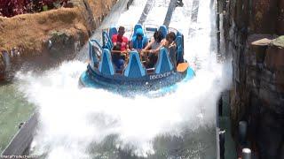 Infinity Falls (4K On-Ride) SeaWorld Orlando